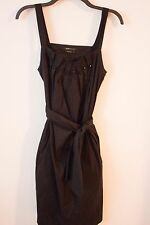 BCBG small black dress with button detail