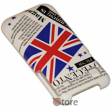 Cover Bandiera Inglese UK Vintage Per Samsung Galaxy S i9001 Plus