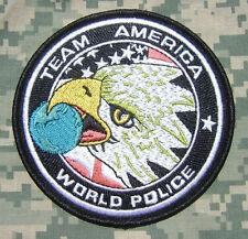 TEAM AMERICA WORLD POLICE OIF OEF ODA SF ACU CTU COUNTER TERRORIST VELCRO® PATCH