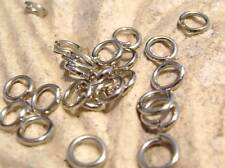 Jump Rings Jumpring Connectors Dull Antiqued Silver color  22ga, 4mm, 200 Qty