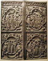Fotogravur ◄ Portal St Etienne 2 Notre-Dame Paris Fotos Emmanuel Sougez 1941