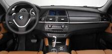 BMW Genuine OEM E71 E72 X6 2008-14 Black Aluminum Flywheel Interior Trim Kit NEW