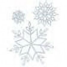 "Lifestyle Crafts DC0020  ""Snowflakes""   3 Cutting Dies  NEW"
