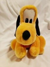 "10"" Vintage Walt Disney World Disneyland Plush Pluto Mickey's Dog"