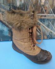 Jellypop Womens Winter Boots  Size 8 M Brown
