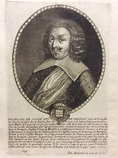 François de Cossé 1581-1651 duc de Brissac MONTCORNET XVIIe Luygné Montaugibert
