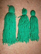 "Spawning mops 6"" sinking mop X 3 for egg layers, live bearers, killifish"