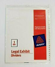 Avery Dennison White Office Index Divider (s)s for sale | eBay