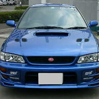 SUBARU IMPREZA Version 6 WRX 2 Door Coupe- REAR TRUNK BOOT LIP SPOILER
