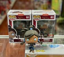Funko POP The Legend of Korra: KORRA Set of 2 Common and Chase Figure Exclusive!