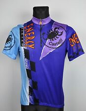 CASTELLI Cycling Italian Jersey Large Men's Shirt Short Sleeve Trikot Maillot L