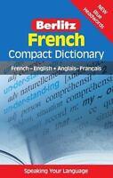 Berlitz French Compact Dictionary: French-English/Anglais-FranCais (Berlitz Com
