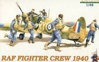 Eduard RAF Fighter Crew 1940 6 Soldaten Figuren Modell-Bausatz Jäger 1:48 kit