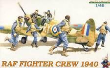 Eduard RAF Fighter Equipaggio 1940 6 Soldati Figure Modello kit Jäger 1:48 kit