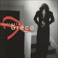 Juliette Greco- Juliette Greco CD- Import, France- Like New Condition OOP RARE