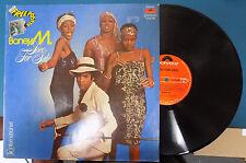"Rare BONEY M. ""Love For Sale"" Disco Funk Soul Alternate Cover Indian LP"
