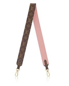 ❤️*NEW* LOUIS VUITTON BANDOULIÈRE Wide Shoulder Strap Monogram Rose Pink RARE!