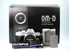 Olympus E-M10 Mark III Gehäuse silber >>> Gebrauchtware vom Fachhändler<<<