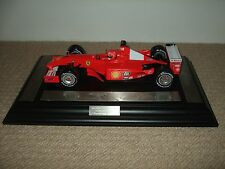 GPL Mattel 1/18 Ferrari F2001 Michael Schumacher World Champion Presentation