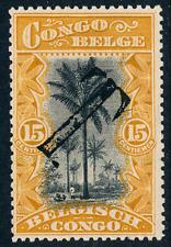 1910 Belgian Congo Stamp, #47, Postage Due T overprint, Mng