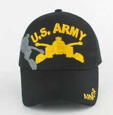 US Army ARMOR Ball Cap 1st Armored Division Cavalry Cav Stryker M1A1 Bradley Hat