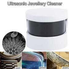 Ultrasonic Ultra Sonic Cleaner Bath Cordless Jewellery Ring Denture Cleaning Kit