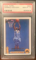 2003 Topps Collection #223 Carmelo Anthony Rookie Card RC PSA GEM MINT 10