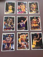 1994-95 Fleer Basketball Team Set: Los Angeles Lakers - James Worthy