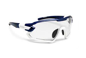 Bertoni Sport Prescription Photochromic Sunglasses for Cycling and MTB - QUASAR2