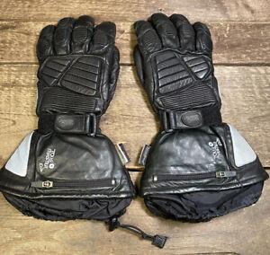 Tour Master Elite 3M Thinsulate Motorcycle Gloves w/ Rain Sleeves Size L