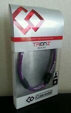 New Genuine Trion:Z Magnetic Ionic Necklace by Colantotte  - purple - size small