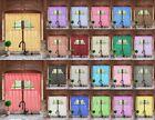 3PC ELEGANT SHEER ORGANZA KITCHEN ROD POCKET WINDOW CURTAIN TREATMENT SET