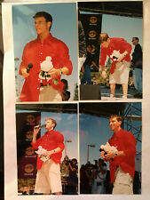 24x Backstreet Boys Brian Littrell Live Concert orig snapshots. set lot 24 photo