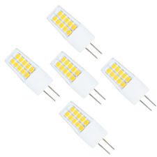 5er 3W G4 LED Lampe, 300LM, Ersatz für 20W Halogenlampen,12V AC / DC Warmweiß