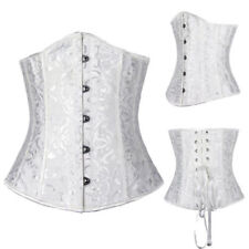 Sexy Corset Underbust Top Tummy Control Body Shaper Lace Up Full-filled Size