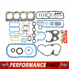isuzu diesel engines engine full gasket set 95 98 gmc isuzu npr truck 4bd2 t turbo diesel