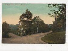 In High Park Toronto Canada Vintage Postcard 420a