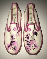 Juicy Couture Girls Shoes Slip On Sneakers Size 3