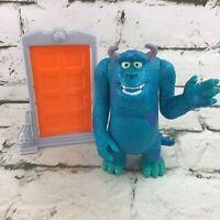 Disney Pixar Monsters Inc Sully Figure With Door McDonalds Happy Meal  Toy