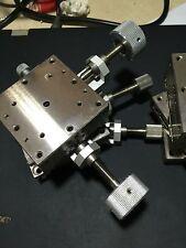 1PC Used Suruga Seiki BSS16-60 XY axis stainless steel platform slide