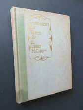 1928 McCarthy IMPRESSIONS EN ROUTE  California to Egypt Mediterranean and return