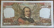 Billet de 100 francs CORNEILLE 4 - 7 - 1974 FRANCE  J.820