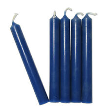 Dark Blue Chime Candles - Lot of 20 - Wiccan Wicca Pagan Magical Ritual Supplies