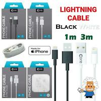 Apple iPhone Charger Cable 1M 3M Charging Lead Lightning USB Cable Fast Charge