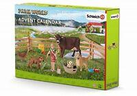 SCHLEICH -  FARM WORLD 97335 FARM LIFE Advent Calendar 2016 -  NEW