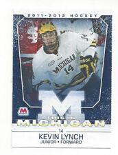 2011-12 Michigan Wolverines Kevin Lynch (Syracuse Crunch)