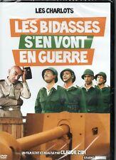 """DVD """"LES BIDASSES S'EN VONT EN GUERRE""""  LES CHARLOTS  neuf sous blister"""