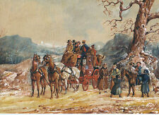High Flyer Coaching Christmas cards pack of 10, Museum of the Horse. MUS3X