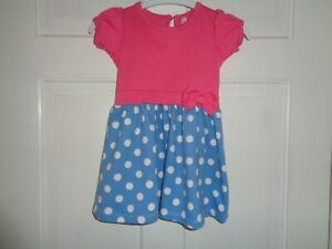 BHS Girls Pretty Summer Dress - 9-12 Months