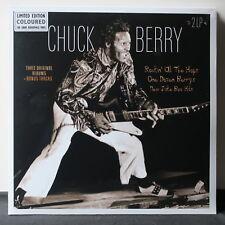 CHUCK BERRY '3 Albums' Ltd. Edition 180g COLOUR Vinyl 2LP NEW/SEALED